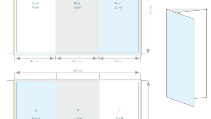 A4 Tri fold Brochure Template – Allprinting Brisbane